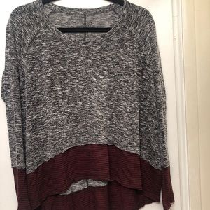 Free People Colour Block Pullover